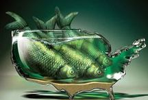 fish art inspiration / by Mevrouw Ans