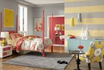 Kids Rooms / Here you get to create a room that reflects who your child is!  Will you let them direct you in color that draws them?  Will their room be a refuge from a long day of school or play?  Will their room be able to grow with them or will you be redecorating it sooner than later?