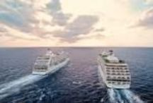 Cruises / You can find Cruises,and luxury hospitality in some of the world's most exciting cities, alluring resort destinations and across the seven seas. Our dedication to enhancing the romance of travel can be found in itineraries that visit the world's most extraordinary destinations. You will be spoiled by a wealth of alluring vistas and memorable experiences in over 250 ports of call. Experience the world with Regent Seven Seas Cruises® and  AMT AMERICAN EXPRESS TRAVEL. / by Doc Travel      AMT AMERICAN EXPRESS