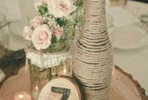 DIY Wedding Ideas / Lots of ideas to inspire you to make your own lovely items for your big day!