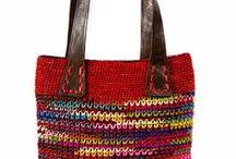 Bolsas de tricô e crochê / Bolsas de tricô e crochê knitting and crochet handbags