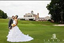 Eagles Landing Weddings / Getting ready, wedding ceremony, and wedding receptions at Eagles Landing in Stockbridge GA - By Jaxon Photography Atlanta documentary wedding photographers