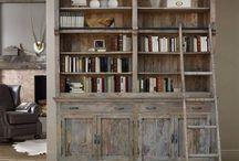 biblioteczki, regały / Biblioteczka lub regały zrobione z drewna palisander, akacja oraz mango. Tutaj mamy wystawione meble w stylu loftowe, industrialne, indyjskie, kolonialne, orientalne oraz klasyczny.