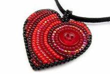 Valentýn - Valentines day / K Valentýnu neodmyslitelně patří červená barva a srdíčka, může to ale být i jinak a bude to stále krásné a romantické.