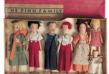 Clothespin Dolls and close relatives