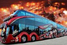 Linja-autot. Kaksikerroksiset. / Kuvia linja-autoista.