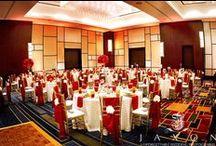 Atlanta Airport Marriott Gateway Weddings / Getting ready, wedding ceremony, and wedding receptions at Atlanta Airport Marriott Gateway Hotel in Atlanta GA - By Jaxon Photography Atlanta documentary wedding photographers