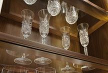 Where's the wine? / Keep your wine and its accompaniments safely and beautifully displayed with these storage options.