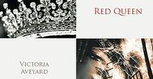 Red Queen / Victoria Aveyard - Red Queen, Glass Sword, King's Cage