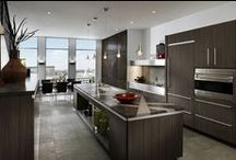 Expressions / A stunning mix of materials and graphic details unite in a vibrant but comfortable environment that includes a kitchen and wardrobe space.