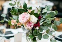 flower: eucalyptus / Wedding flower inspiration featuring eucalyptus