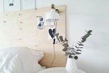 Slaapkamer ❥ DIY / Zelfgemaakt, DIY en creatief.