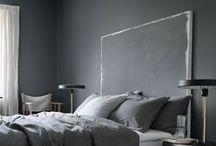 Slaapkamer ❥ Grijs / Grijstinten, warm en neutraal