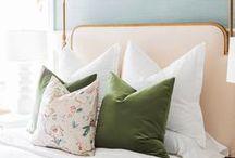 Slaapkamer ❥ Romantisch / Romantiek, zachte kleuren en bloemenprints