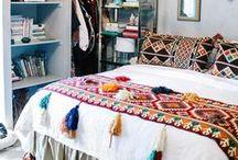 Slaapkamer ❥ Bohemian / Kleurrijk, printjes en dromenvangers