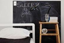 Slaapkamer ❥ Nachtkastjes / Nachtkastjes, verschillende soorten en kleuren