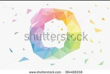 Low Poly, Background, Object, Graphic Design / This board contains low poly design. background and another things are made manually using adobe illustrator. here my link  http://shutterstock.com/g/seklihermantaputra