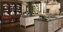 European Inspirations / Whether your're inspired by the ornate elegance of Old World cabinetry or the casual warmth of French and English country kitchens, Wood-Mode continental style to life in your home. View additional inspiration at wood-mode.com.