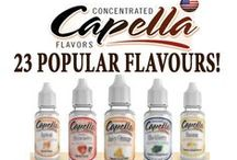 ☕Our Capella Flavour Concentrates UK / We offer a range of popular Capella concentrates. Available in 13ml & rare 118ml bottles!  Capella produces concentrated, water soluble, multi-use flavours.