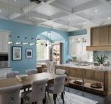 Edison Heights / Traditionally-inspired urban architecture and modern amenities blend in transitional elegance. Conducive to intimate family meals or elaborate dinner parties, the open floor plan exudes an overt sense of warmth and welcome.