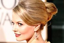 Classic Style Pinspiration / The CLASSIC BRIDE look is a more traditional, clean, polished look. The Makeup tends to be a step above natural, with an emphasis on one major focal point that pops. The Hair Styling is typically an updo, which a lot of shine.