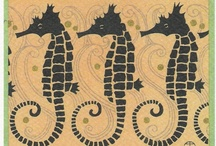 Seahorses - Home and Crafts / by Cathy Irvine