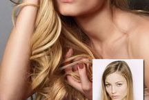 Hair Extensions:: Before & After