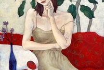Contemporary Artists / Mainly figurative artists and portrait artists with beautiful styles.