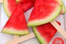 Melons / Watermelon, muskmelon, honeydew, etc...we have plenty of recipes with delicious melons!