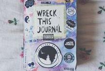 Wreck This Journal / My book ♥ My ideas ! ART