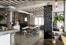PLACES WE WANT TO EAT / Restaurants with great interiors