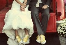 White Bride & Color Shoes