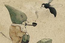 Art - Comic, Skizzen, Sonstiges / by Volpesita