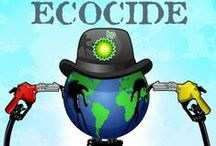 EcoNews- Energy-Fire / The cattle industry has undoubtedly caused more environmental destruction in the western United States than all the highways, dams, strip mines, oil drilling and power plants put together. Vegetarian still feeds the dairy industry - go vegan.