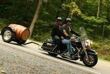 Motorcycle trailer / Aanhangers voor de motor .