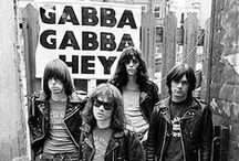 ✖ The Ramones ✖ / Punk originators and one of my all-time favorite rock groups, I was lucky enough to see them live three times in concert. Sadly all four of the founding members are now deceased. Gabba Gabba Hey!  / by Rodzilla™