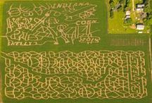 Skelly Corn Mazes / Pictures of past corn mazes at our farm.