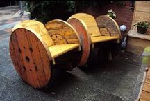 Cable Spoole / Kabel katrol meubels