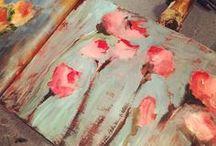 ART Flowers Wallpaper
