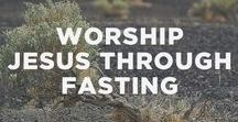 Christian Fasting and Prayer / About the call to Fasting for the Christian. Information about different types of fasting. Some information about food addiction. Also Prayers for Christians.