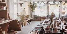 Fair+Simple Showroom / Inspiration for our showroom.