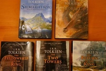 Writer ✐ J. R. R. Tolkien / John Ronald Reuel Tolkien, CBE ( /ˈtɒlkiːn/;[1] 3 January 1892 – 2 September 1973) was an English writer, poet, philologist, and university professor, best known as the author of the classic high fantasy works The Hobbit, The Lord of the Rings, and The Silmarillion.