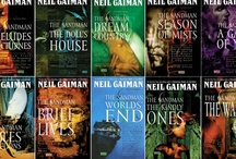 Writer ✐ Neil Gaiman / Neil Richard Gaiman ( /ˈɡeɪmən/;[3] born 10 November 1960[4]) is an English author of short fiction, novels, comic books, graphic novels, audio theatre and films. His notable works include the comic book series The Sandman and novels Stardust, American Gods, Coraline, and The Graveyard Book.