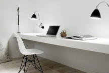 interior : home office / Some inspiration for office or home office.