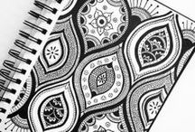 Zentangles / This board is all about relaxation. Zentangle has become almost my favorite art to do. I love to add watercolor paint to my projects.  / by Susan Hinrichs