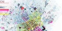 DATA + cartographie - data mapping / mapping & data geolocation - cartographie et représentation de données spatialisées