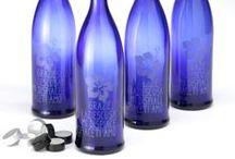 COBALT BLUE ENERGY WATER HO'OPONOPONO / #Ho'oponopono #blue #cobalt #bottle #love
