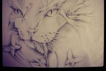 My Drawings ® / Pencil all over