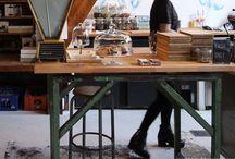 S h o p p e S / Shoppes Cafés Bakeries