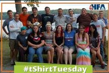 T-Shirt Tuesday / Featuring our great community members who wore their t-shirts to raise awareness of the #bleedingdisorders community!